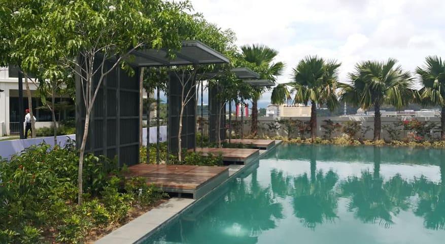 my home@KK 多人间每人价格 市中心imago市场楼上,距机场和市中心10分钟 - Sabah - Apartment