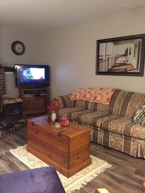 Bright, cozy in law suite!