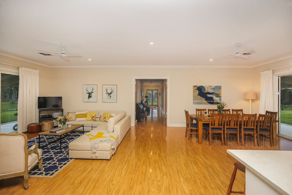 A spacious homestead with 10 foot ceilings.