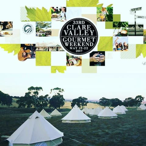 Deluxe Glamping for 2 @ Clare - Clare - Tipi