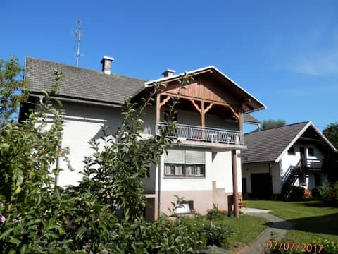 Simple village apartment