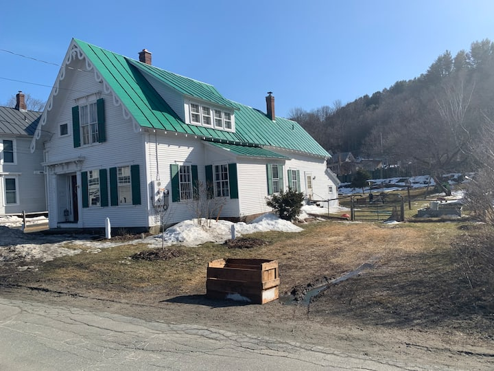 Big Private House Next Door to Vermont Law School