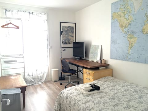 Chambre/private room near Nantes center
