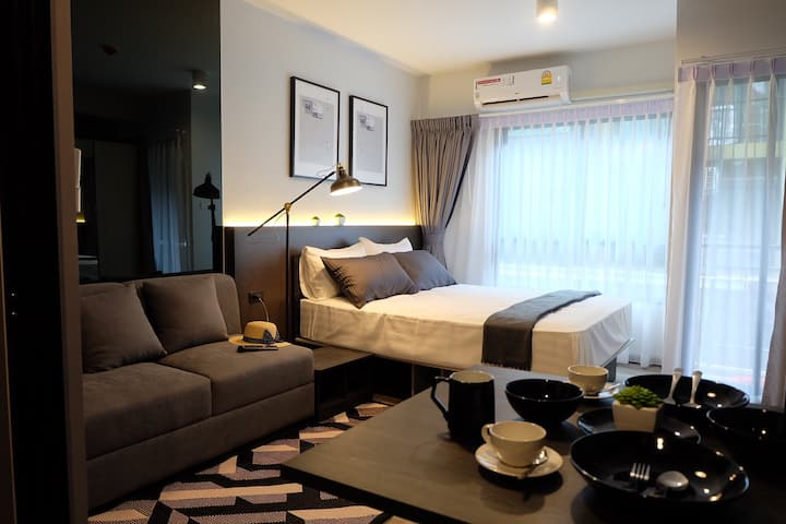 Best Deal Studio Near Jatujak market, MRT&BTS,7-11