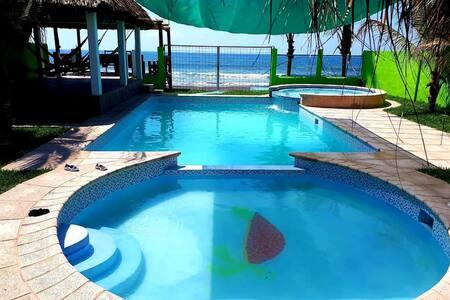 La Iguana Beach House Monterrico Beach Guatemala