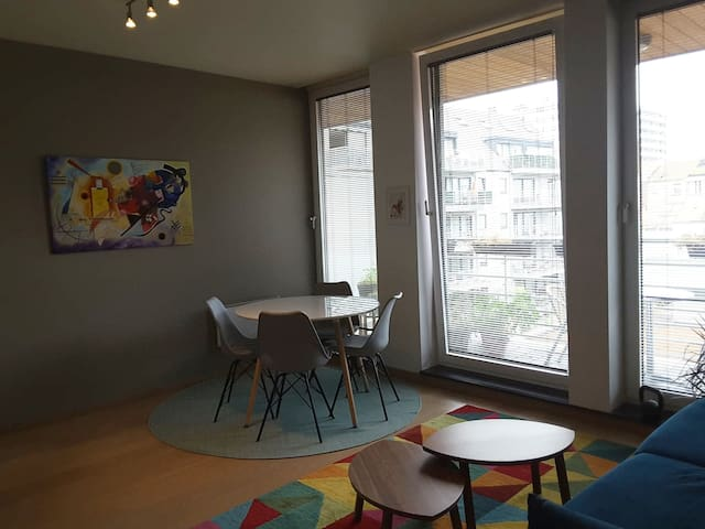 Beautiful flat in the heart of Brussels