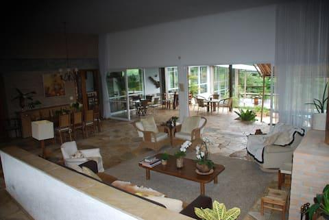 Casa de Campo ideal p/ reuniões de empresas