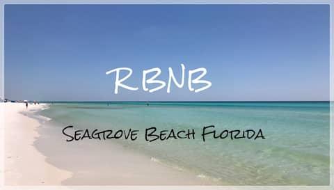 RBNB-1 Block Seagrove Beach CLEAN Private Entrance
