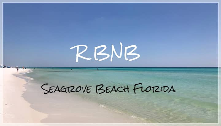 RBNB-1 Block Seagrove Beach CLEAN Private Entrance