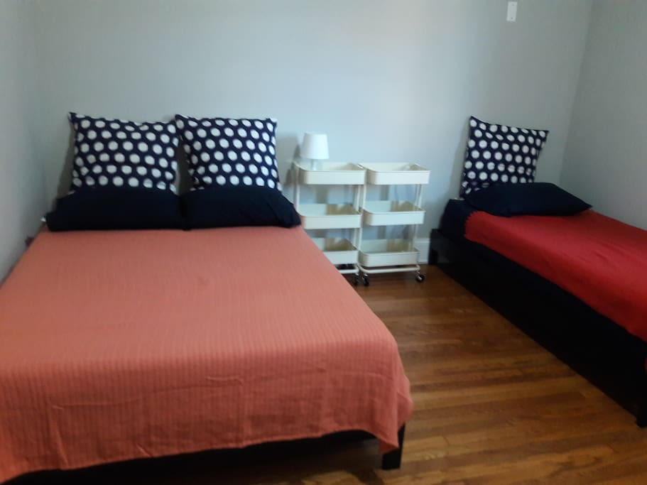 A Full view of the Bedroom