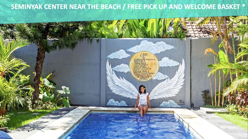 Seminyak near the beach -15%> 30/06/2019