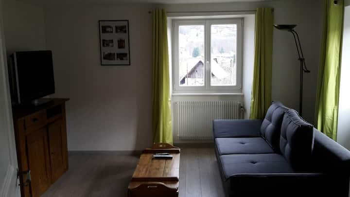 Appartement avec jardin en Alsace