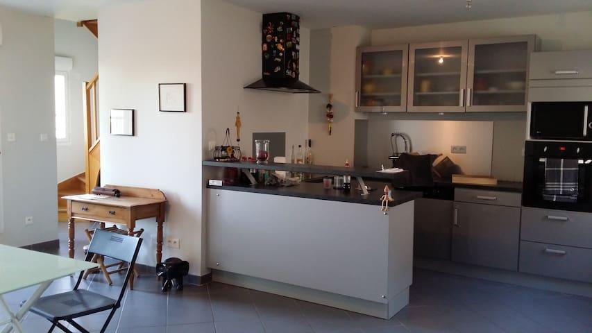 DUPLEX MODERNE ET CHALEUREUX - Silly-le-Long - Apartment