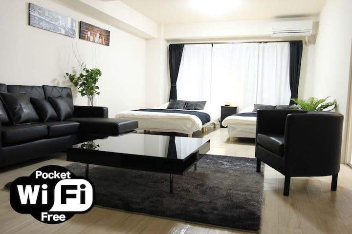 Big Room 10people☆2Min Nipponbashi/5Min Dotonbori - Chūō-ku, Ōsaka-shi