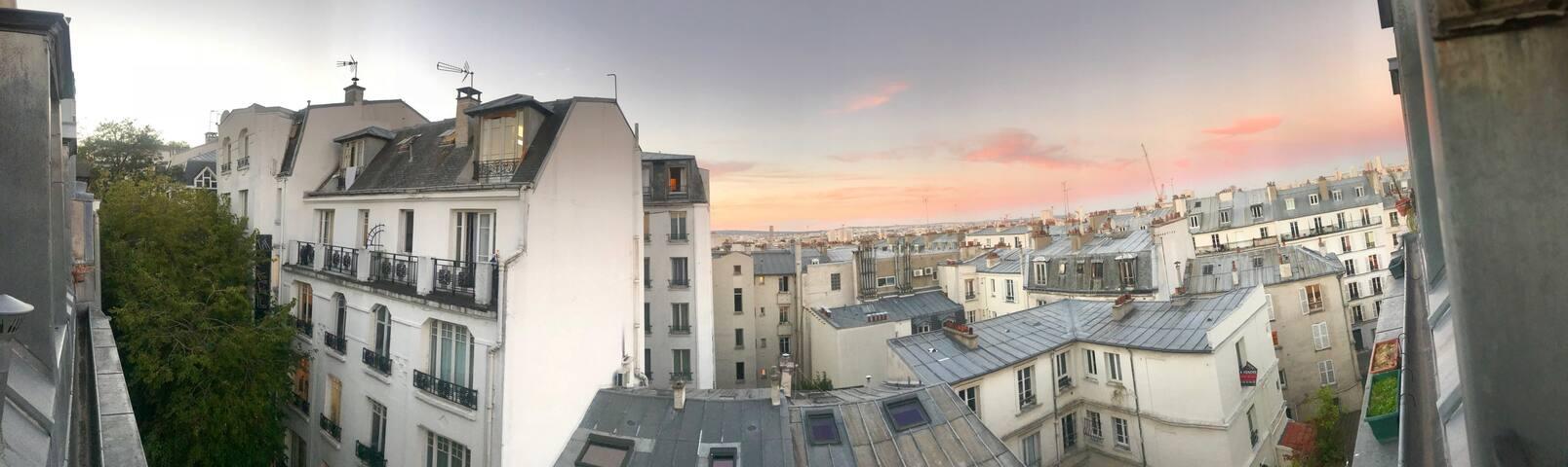 Cosy Studio à Montmartre 18e - Bail de mobilité