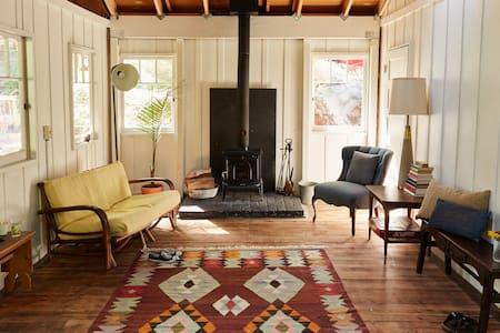 Camp Noon: A Redwood Retreat