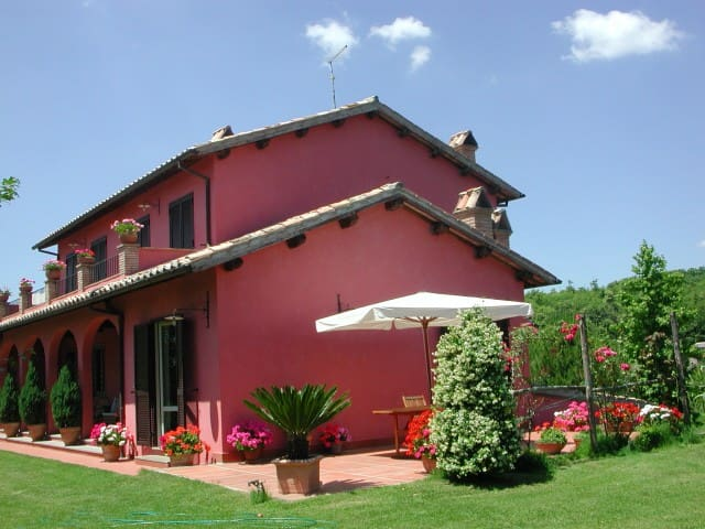 Villa Lake Bolsena view - Gradoli - 별장/타운하우스