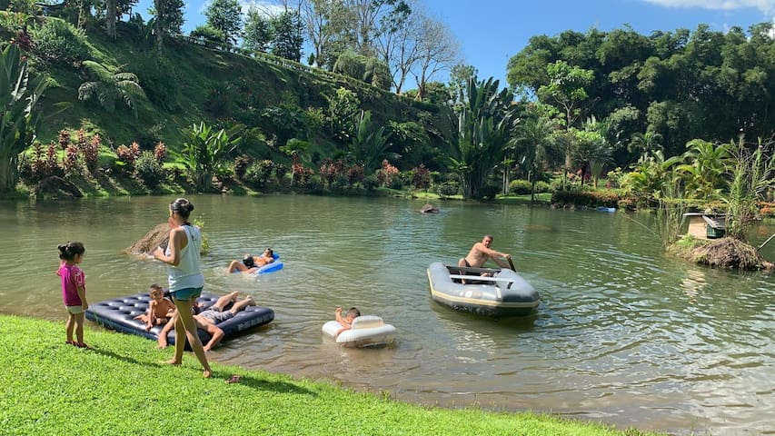 """Bungalow camping del rio 1 """"Camper privado"""""""