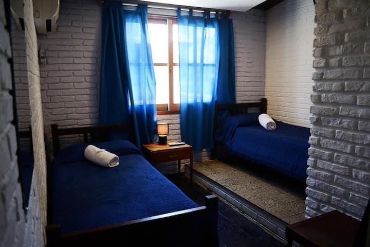 El Viajero hostel - Lo mejor de Punta !! Twin