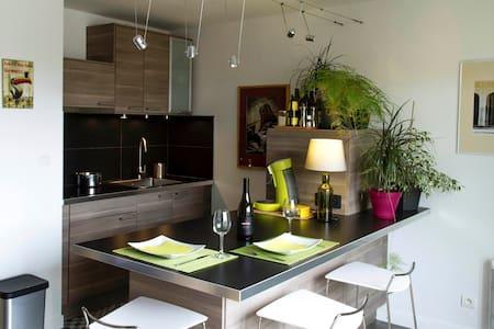 Appartement fonctionnel, calme, lumineux, terrasse - Bischheim - Pis