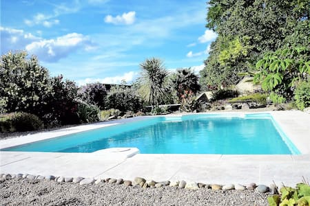 Spacious apartment for two in tranquil countryside - Sérignac-Péboudou - Apartamento