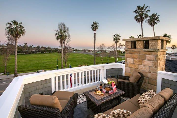 Playa Lodging 3 Bedroom Villa - Steps to Beach! - Carpinteria - Villa