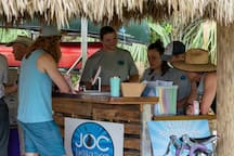 Stop on by to Jupiter Outdoor Center for free paddling when you say you are staying at Headwaters.