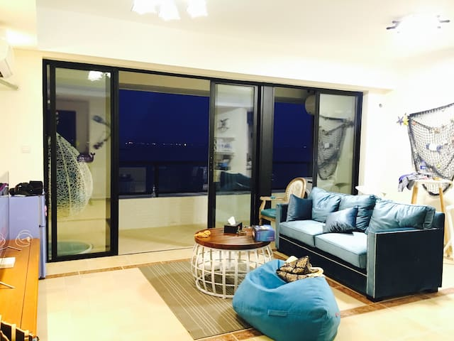 (SENSITIVE CONTENTS HIDDEN)(惠州大亚湾泡泡海度假公寓)一室一厅带阳台全景观海房 - Huizhou - Apartmen