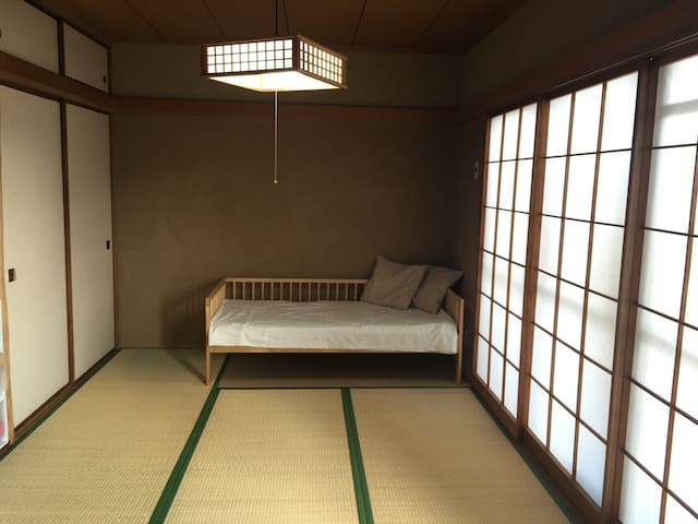Japanese style room in Harajuku.