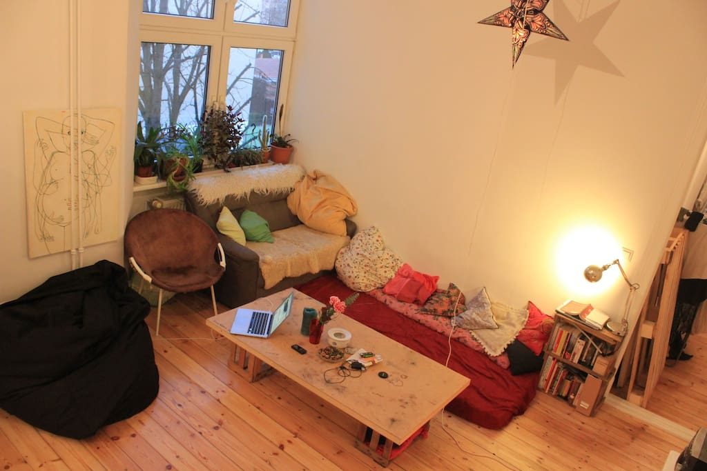 THE Highlight of our apartment is the large living area...