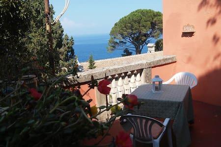 private terrace & seaview room - Taormina