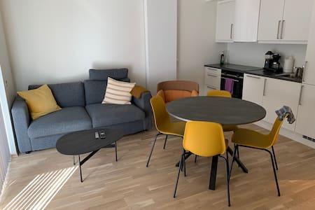 Ny leilighet (2020) med balkong og nærhet til Ikea