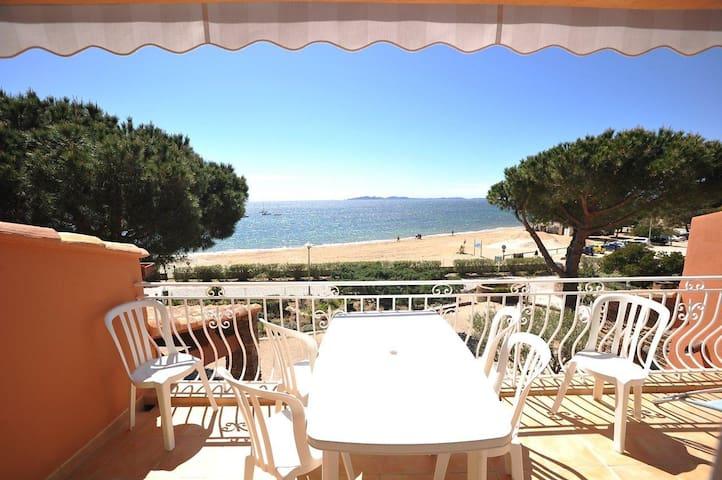 VILLA L'ENSOLEILLADE, 10m Mer, Vue Mer,Piscine (7) - La Londe-les-Maures - Apartament