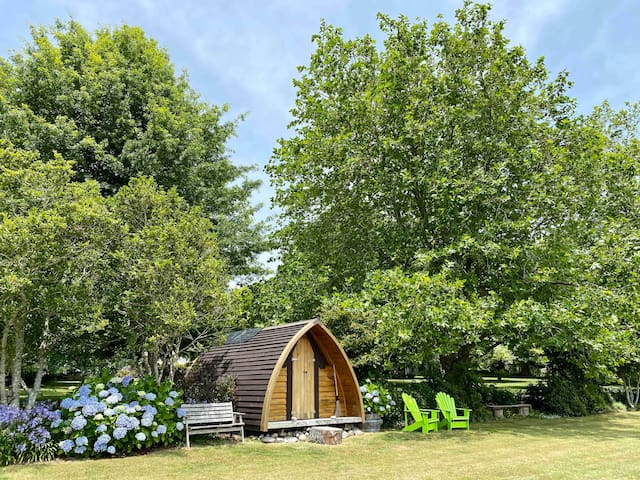 ★The Ark unique & cosy in secluded parklike garden