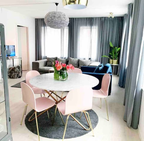 Comfortable and trendy apartment