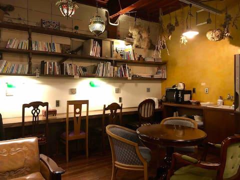 泊まれる純喫茶ヒトヤ堂(静岡駅から徒歩12分のゲストハウス)