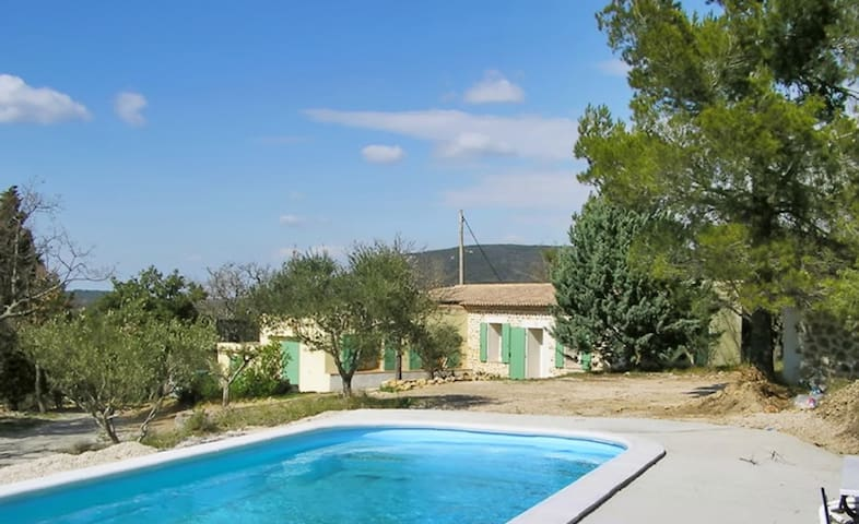 Country house with pool & Wi-Fi - La Verdière - Rumah