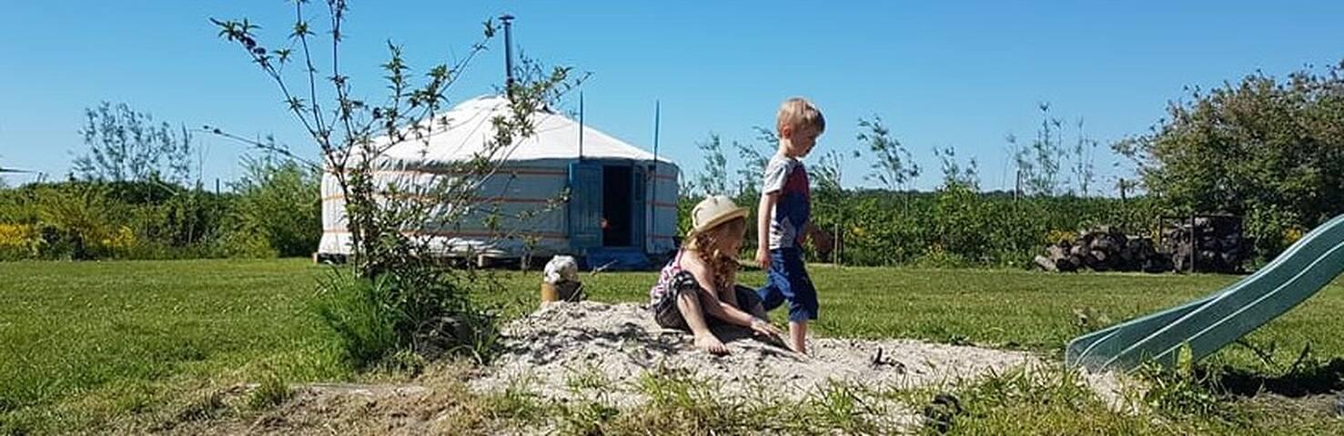 Yurt 'De Wulp'