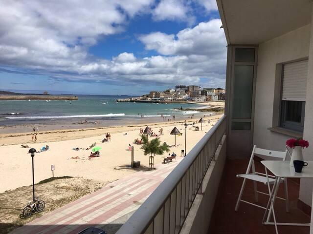 Piso encima de la playa en San Ciprián