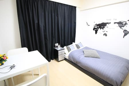 ★1min to Sta/ PET OK/Free Wi-Fi★ - Apartment