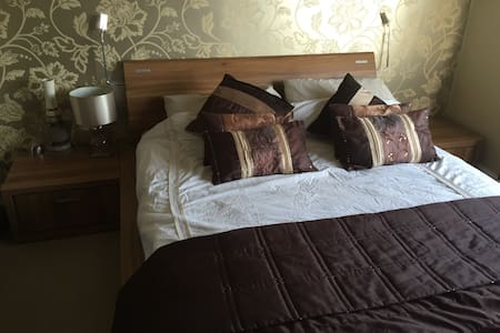 Excellent King Size bed with TV. - Birmingham - Casa