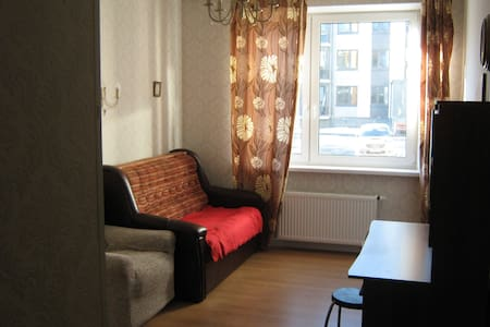 New sunny apartment next to famous tourist places - Pushkin