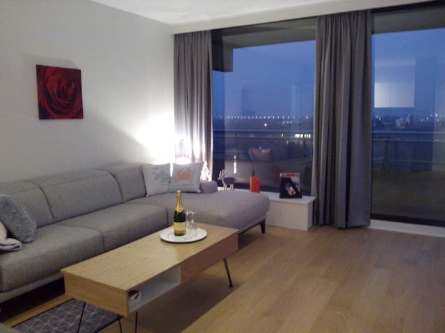 Charming new App 50m from the Beach - Oostende - Byt