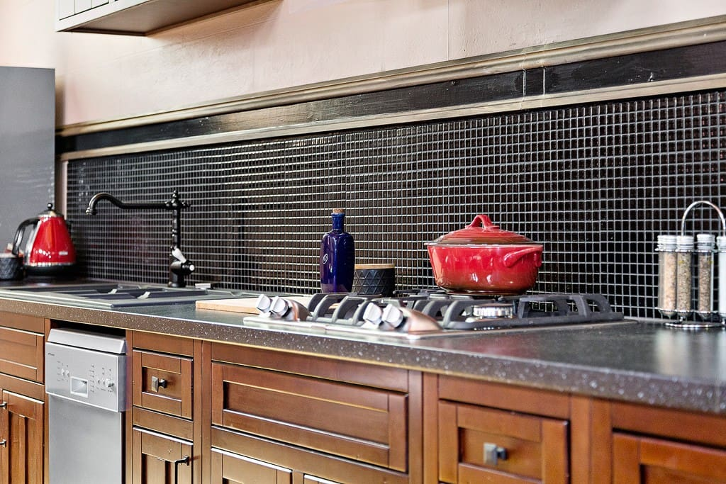 There is plenty of space to cook up a storm in our fully equipped kitchen.