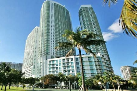 Miami Dowtown Water view (American Airlines Arena) - Miami - Apartment