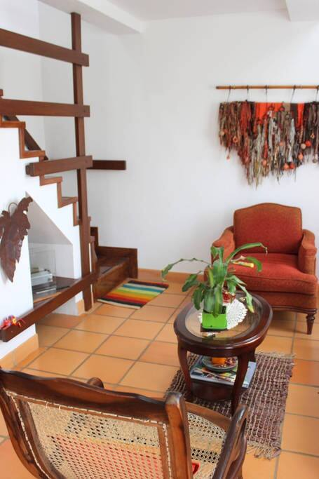 La Sala / Living Room and Social Area