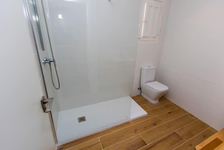 Baño 1 . Detalle Ducha.
