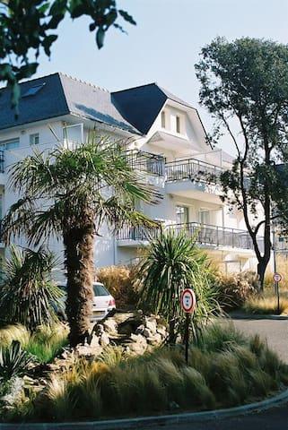 T2 Pornichet 4 pers - terrasse /piscine/50m plage