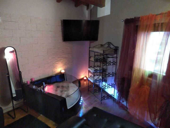 Appartamento con sauna e idromassaggio
