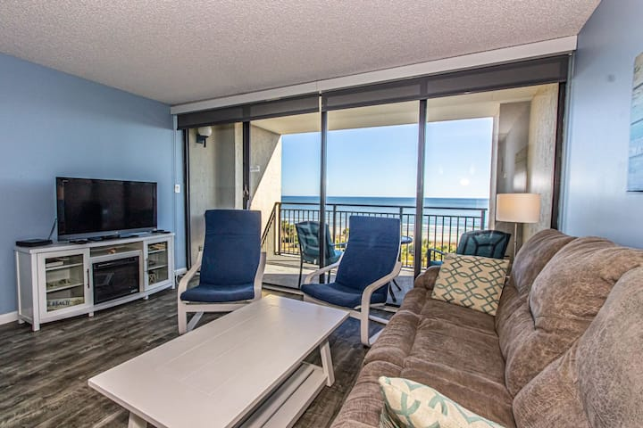 Oceanfront Double Queen Apartment - Modern and Clean! - Sleeps 6!  Ocean Forest Plaza 607